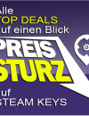 PC SPIELE CD-KEYS TOP DEALS am 17. Oktober 2015