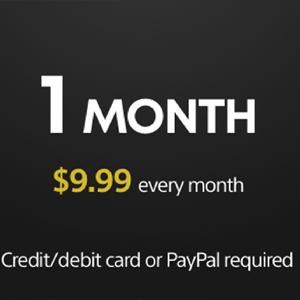 Playstation Plus Membership 1 Monat