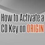 Quick Guide | Wie man einen CD Key auf Origin aktiviert