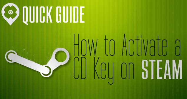 Kurze Anleitung | So aktivierst Du einen CD-Key auf STEAM