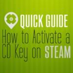 Quick Guide | Wie aktiviert man eine CD Key auf STEAM