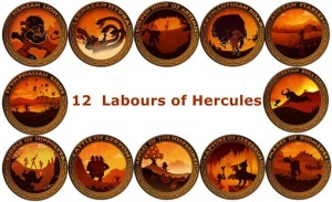 12+Labours+of+Hercules