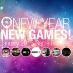Neues Jahr – Neue Spiele! | Game Releases Januar 2015