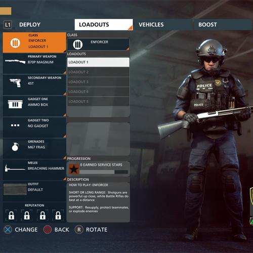 Battlefield Hardline Vollstrecker Gruppen
