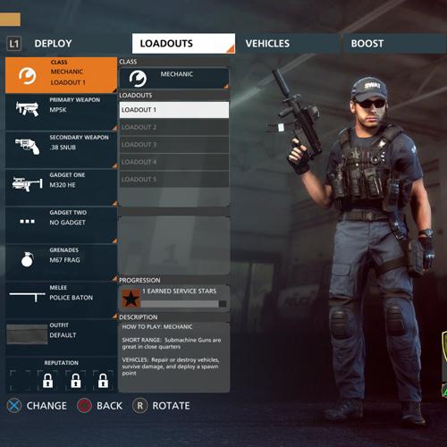 Battlefield Hardline Mechanic Gruppen