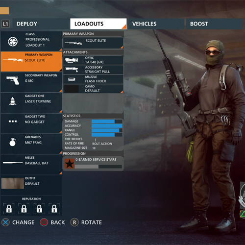 Battlefield Hardline professionelle Gruppen