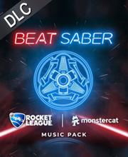 Beat Saber Rocket League x Monstercat Music Pack