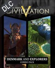 Civilization 5 Denmark and Explorer's Combo Pack