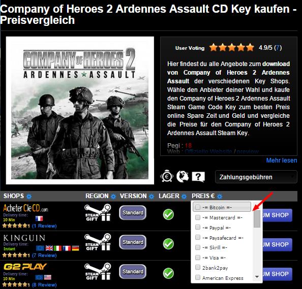 Company of Heroes 2 Ardennes Assault CD Key kaufen   Preisvergleich1