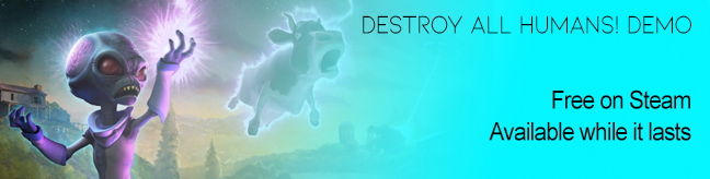 Destroy All Humans! Demo