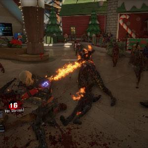 Riesige zombie Ausbruch