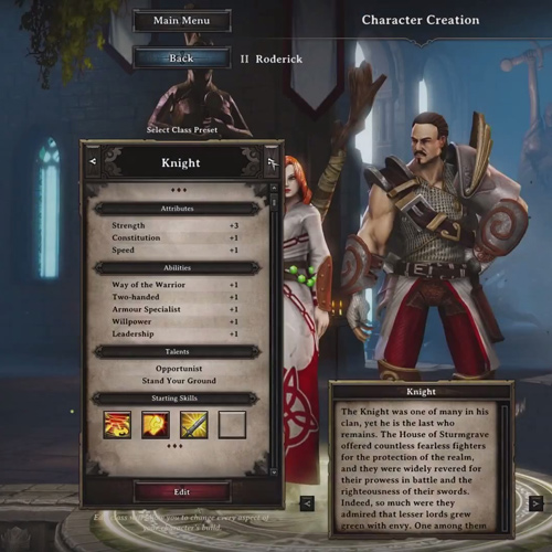 Divinity Original Sin Character Creation