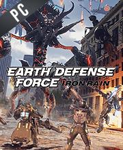 EARTH DEFENSE FORCE IRON RAIN