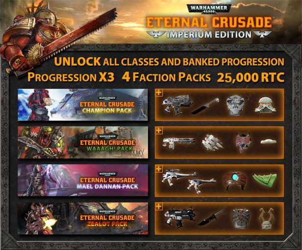 Warhammer 40k Eternal Crusade Imperium Edition