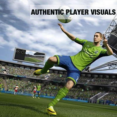 FIFA 15 Xbox One Authentische Spieler Visuals