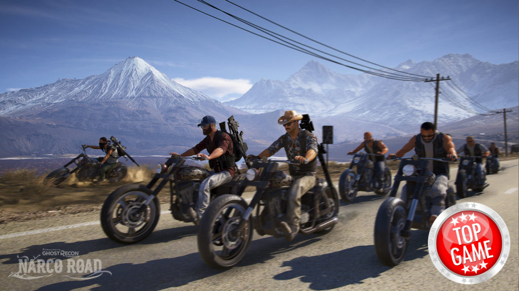 Ghost Recon Wildlands Narco Road