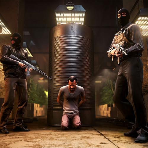 Battlefield Hardline Geisel Gefangenschaft Screenshot