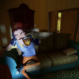Spannende horror Gameplay