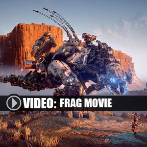 Horizon Zero Dawn PS4 frag movie