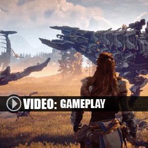 Horizon Zero Dawn PS4 video gameplay