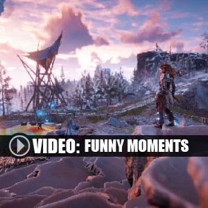 Horizon Zero Dawn The Frozen Wilds PS4 Funny Moments