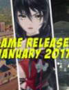 Januar 2017 Spiele-Release: 3 neue Spiele zum spielen!