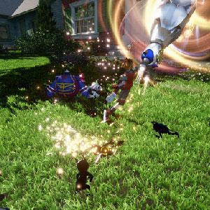 Kingdom Hearts 3 PS4 Kampf