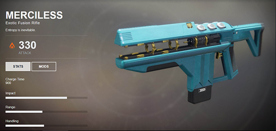 Merciless (Exotic Fusion Rifle)