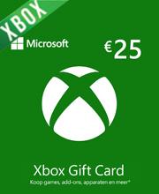 Xbox Live Microsoft Geschenkkarte 25 Euro