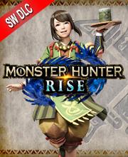 Monster Hunter Rise Hunter Voice Yomogi the Chef