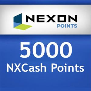Nexon 5000 NXCash Punkte Gamecard Code kaufen - Preisvergleich