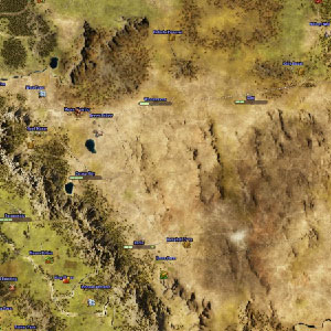 Bahnhöfe Karte