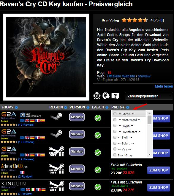 Raven s Cry CD Key kaufen   Preisvergleich