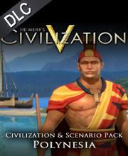 Sid Meiers Civilization 5 Civilization and Scenario Pack Polynesia