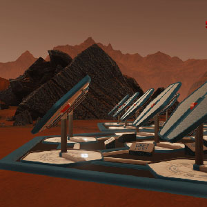 Surviving Mars-Solarzellenplatte