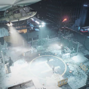 The Division PS4 Gameplay Map