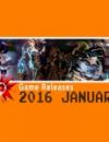 Spiele Release für Januar 2016