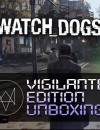 Watch Dogs Vigilante Edition Unboxing