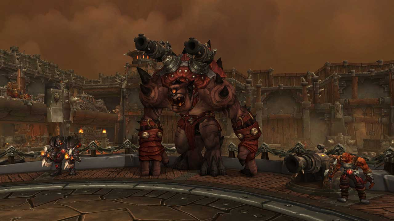 WoW Warlords of Draenor Screenshot Eisen- Docks