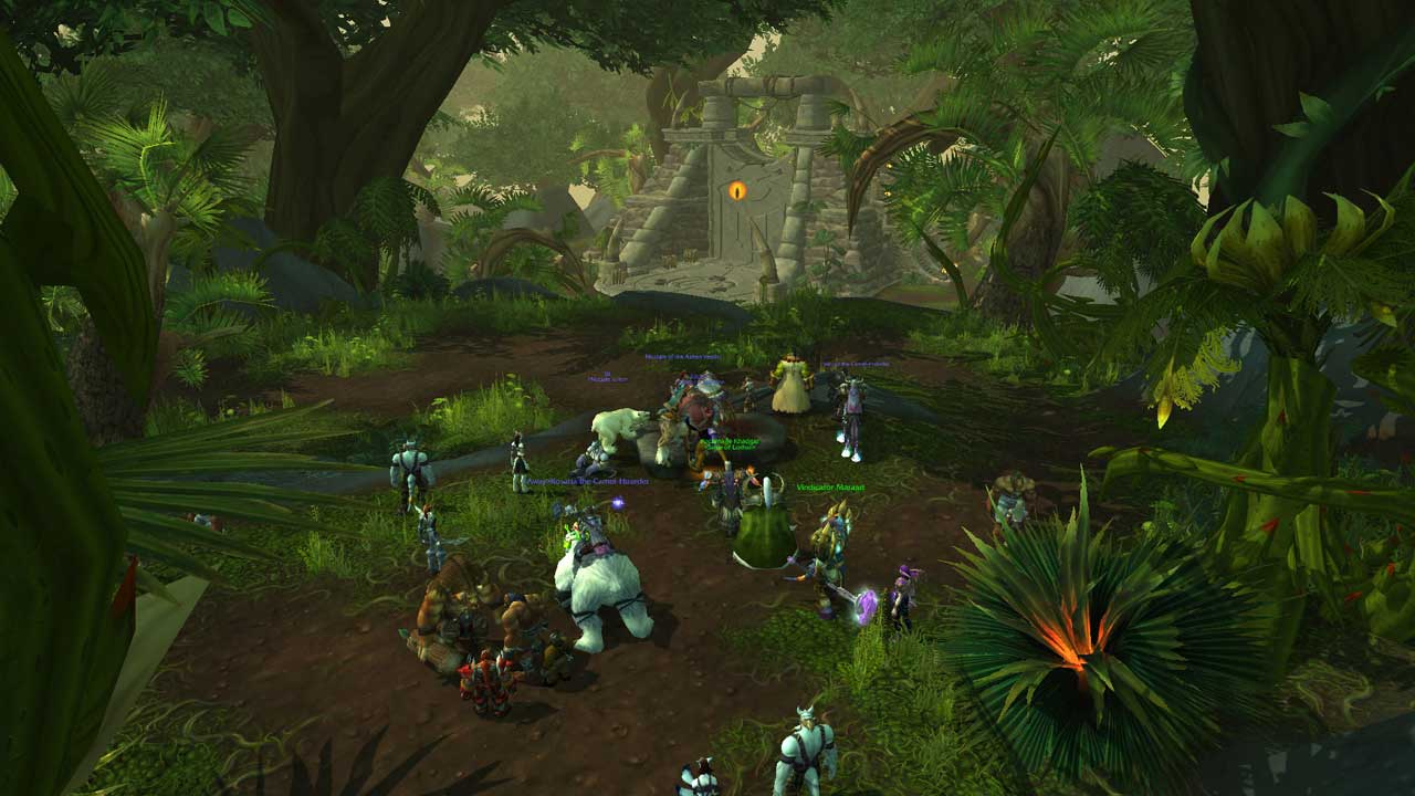 WoW Warlords of Draenor Screenshot von Jungle Heute