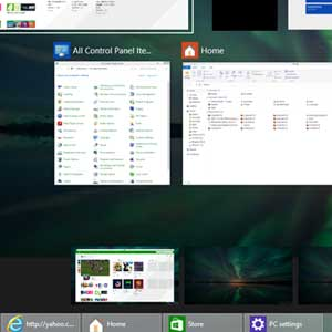 Mehrere virtuelle Desktops in 10 Windows-Pro