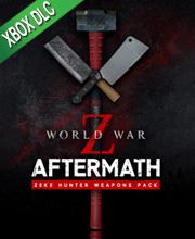 World War Z Aftermath Zeke Hunter Weapons Pack