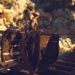 Adams Venture Origins Sunny Mine Cart