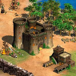 Age of Empires 2 HD - Gameplay Schlösser