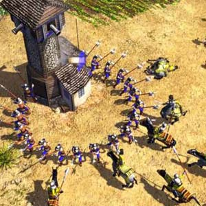 Age of Empires 3 - Turm Siege