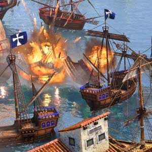 Age of Empires 3 Definitive Edition Seeschlacht