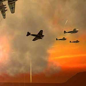Erstaunliche Luftschlachten