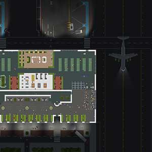 Airport Ceo Flughafen bei Nacht