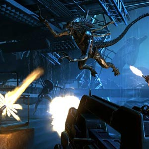 Aliens Colonial Marines Kampf
