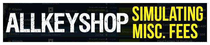 AllKeyShop: Simulating Fees